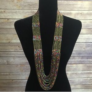 Tribal Style Statement Necklace
